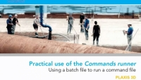 PLAXIS 3D - Practical use of the Commands runner - Using a batch file to run a command file