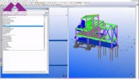 Tekla Structures for Industrial Projects.Secondary Steel Framing