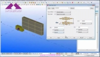 Tekla Structures Extensions Linear Array tool