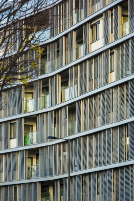 Shoreditch Apartments in London, UK by Benedetti Architects