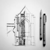 اسکیس، Architectural Sketches